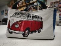 Paniers fourre-tout en tissu au motif d'un combo Volkswagen